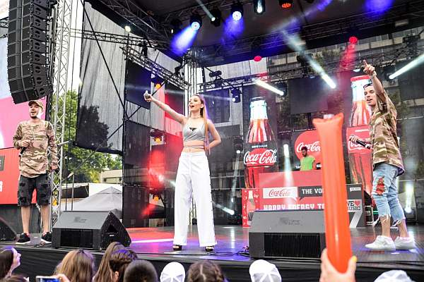 Coca-Cola The Voice Happy Energy Tour 2017