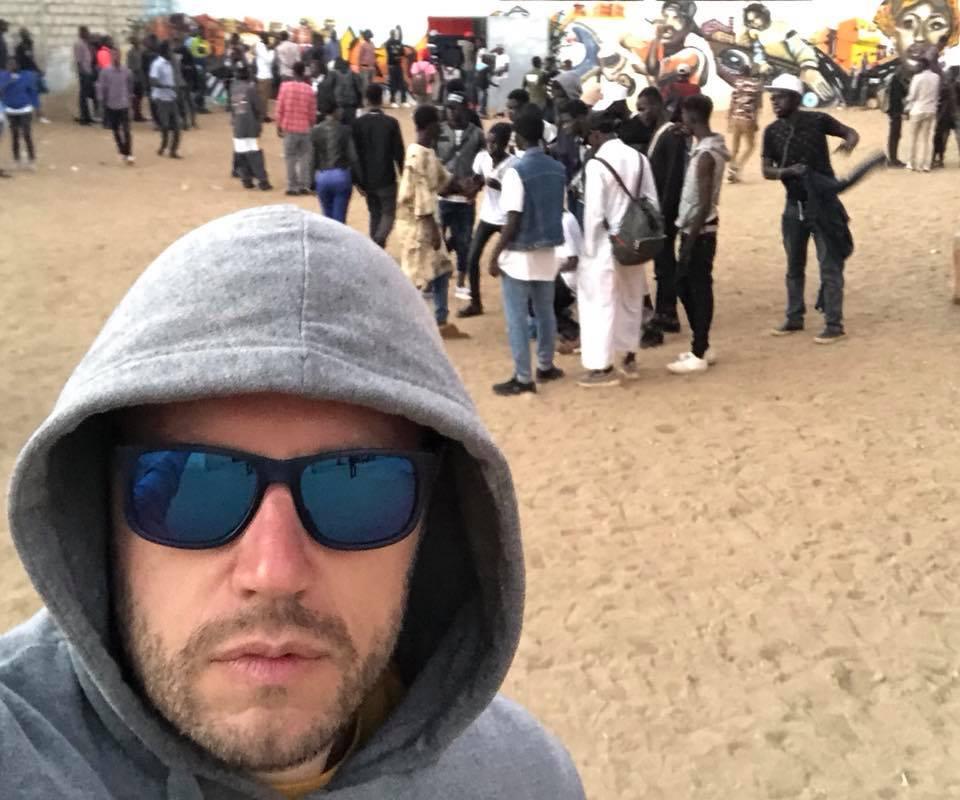 Георги Милков в Dakar