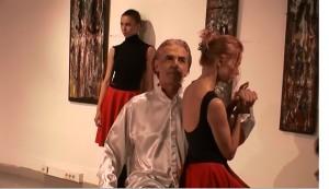 пърформънс-спектакъл на актьора Ники Сотиров