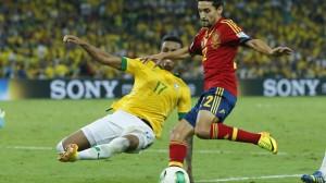 Brazil Soccer Confed Cup Brazil Spain