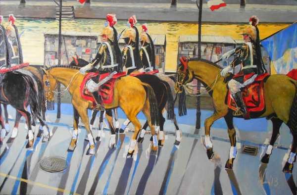 """Галерия """"Ракурси"""" представя изложбата на Андрей Даниел """"Назад към Париж"""". Живописните платна са рисувани през 2013 г. и 2014 г. и са посветени на градът, където авторът е имал творчески престой през 2012 г."""