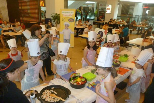 Шоу кухня за деца