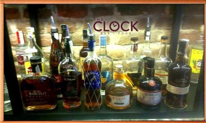 Коктейли с ром и награди от The Clock bar & food