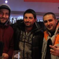 Румънеца и Енчев опънаха десетметрова шатра в центъра на Банско