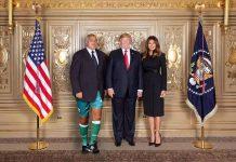 Снимката на Бойко с Тръмп
